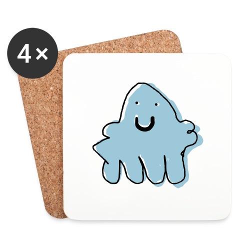 octopus geneva - Coasters (set of 4)