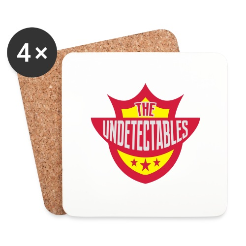 Undetectables voorkant - Onderzetters (4 stuks)