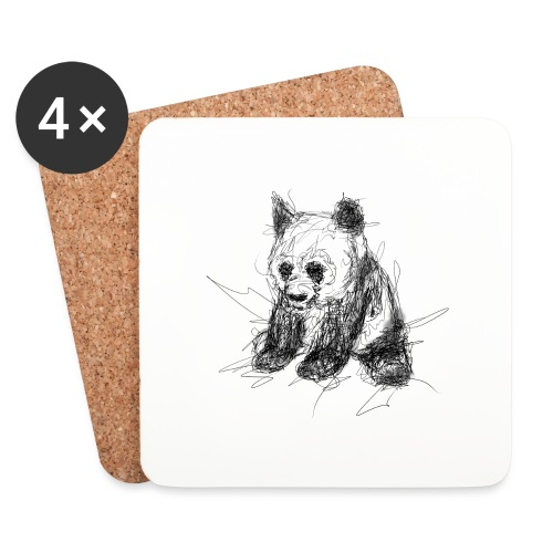 Scribblepanda - Coasters (set of 4)