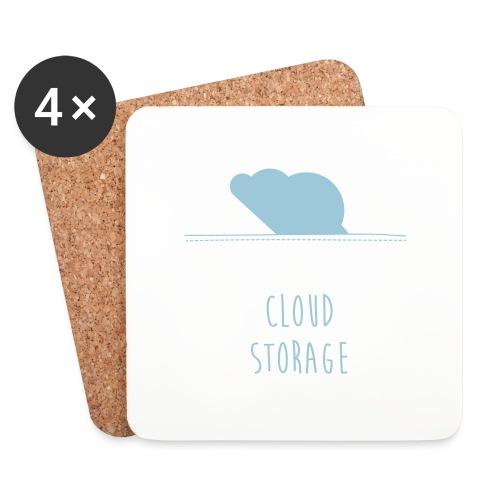 Cloud Storage - Untersetzer (4er-Set)