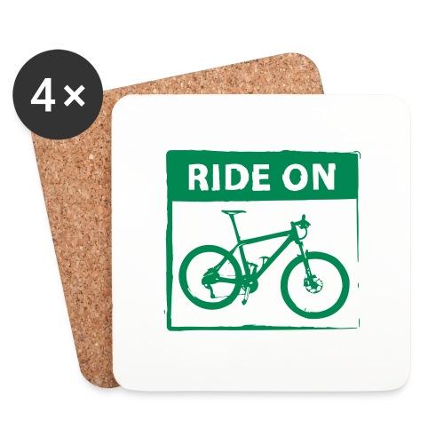 Ride On MTB 1 Color - Untersetzer (4er-Set)