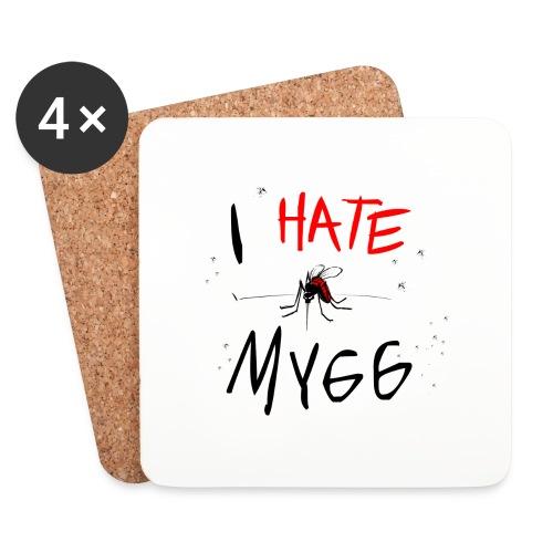 I hate mygg - Underlägg (4-pack)
