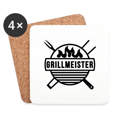 Grillmeister - Untersetzer (4er-Set)