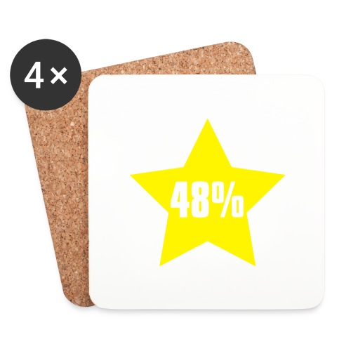 48% in Star - Coasters (set of 4)