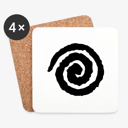 Tomorrow Is Now, Kid! Swirl - Coasters (set of 4)