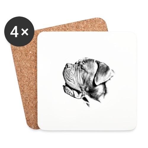 Treat me well - Glasbrikker (sæt med 4 stk.)