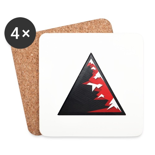 Climb high as a mountains to achieve high - Coasters (set of 4)
