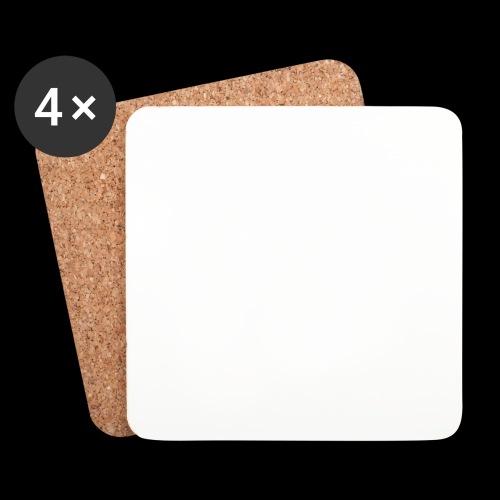 P2P Boxing White Logo - Coasters (set of 4)