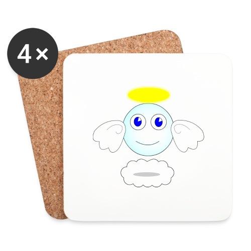 puff logo - Sottobicchieri (set da 4 pezzi)