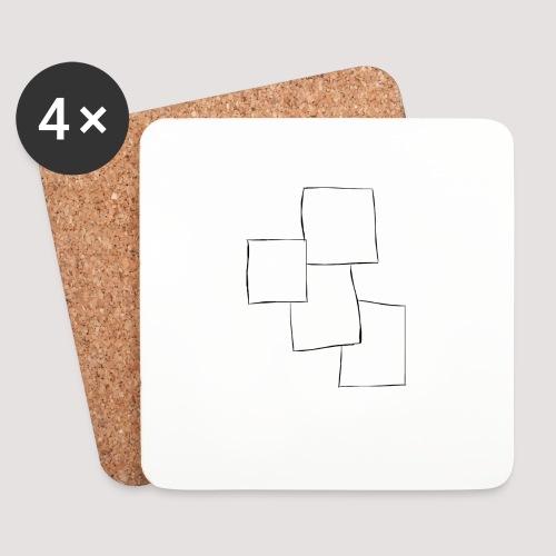 4 Squares - Brikker (sett med 4)