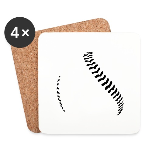 Baseball - Coasters (set of 4)