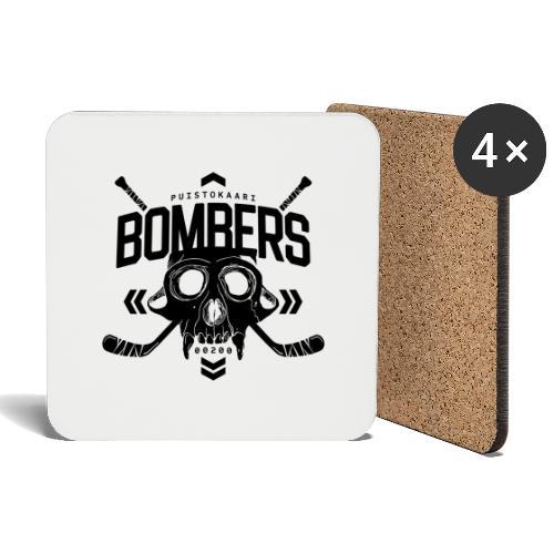 Puistokaari BOMBERS - Lasinalustat (4 kpl:n setti)