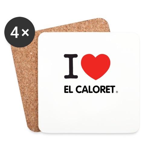 El Caloret - Posavasos (juego de 4)