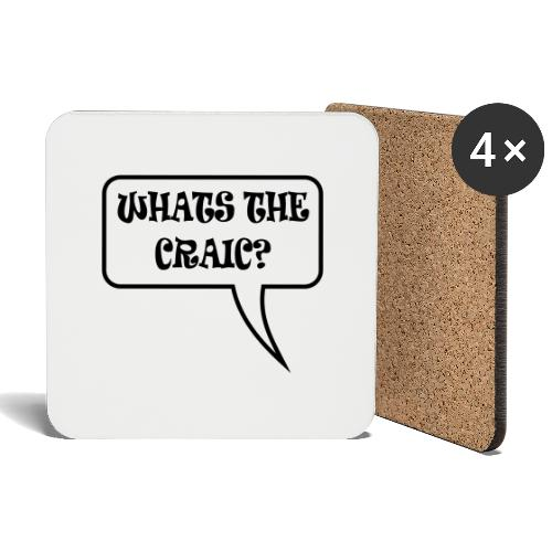 whats the craic - Coasters (set of 4)