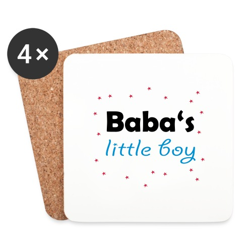 Baba's litte boy Babybody - Untersetzer (4er-Set)