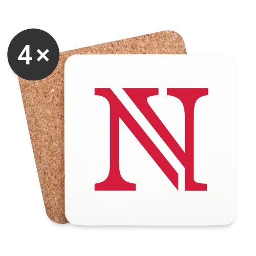 N allein - Untersetzer (4er-Set)