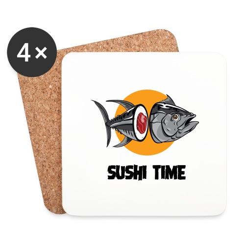 SUSHI TIME-tonno-n - Sottobicchieri (set da 4 pezzi)