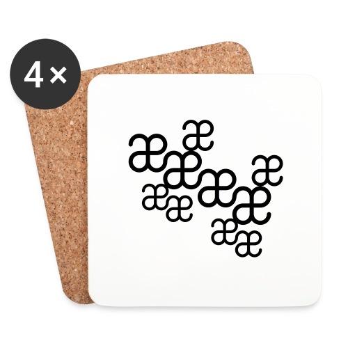 Texture Artesplorando - Sottobicchieri (set da 4 pezzi)