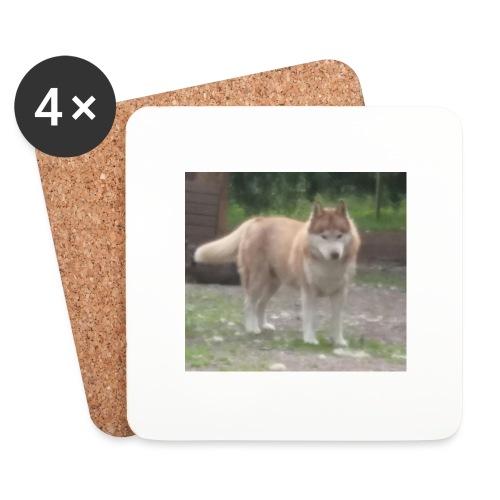 MY DOG - Lasinalustat (4 kpl:n setti)