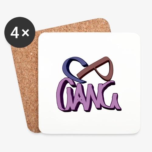 CP GANGG - Lasinalustat (4 kpl:n setti)