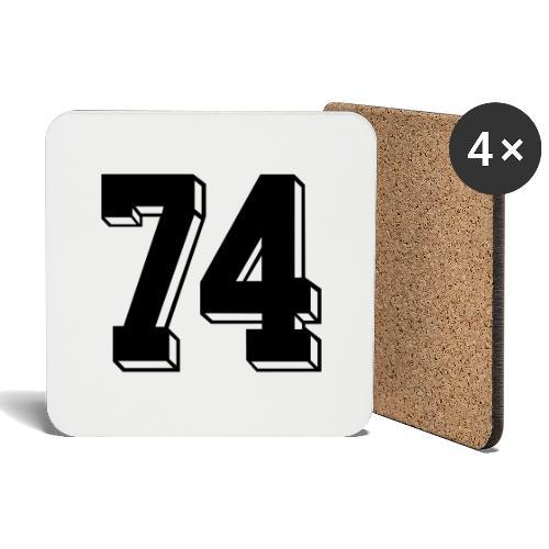 Football 74 - Coasters (set of 4)