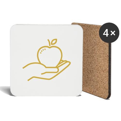 Äpplet - Underlägg (4-pack)