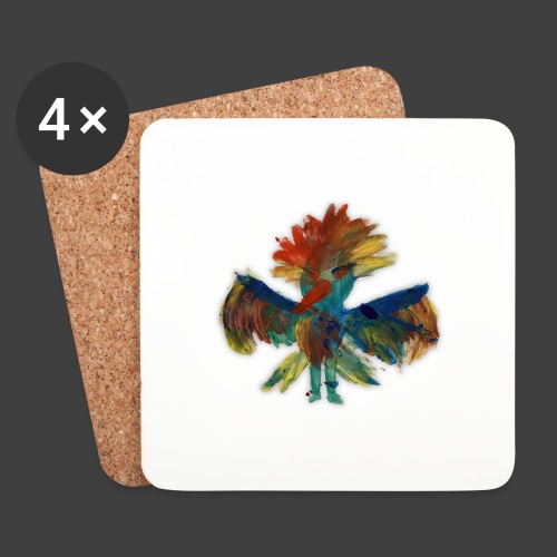 Mayas bird - Coasters (set of 4)
