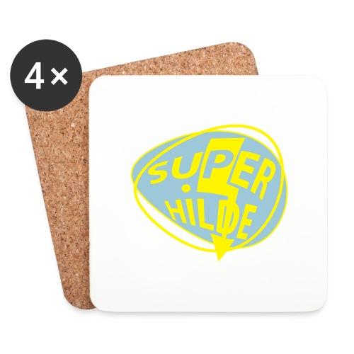 superhilde - Untersetzer (4er-Set)