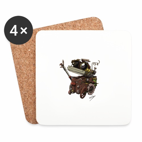 Bout 2 Robot - Coasters (set of 4)
