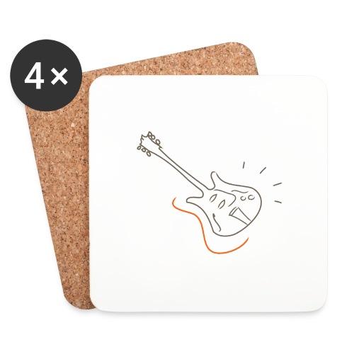 Guitar - Jazz Life Collection - Sottobicchieri (set da 4 pezzi)