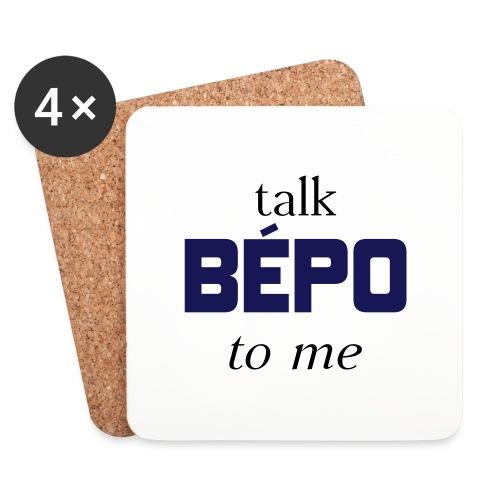 talk bépo new - Dessous de verre (lot de 4)