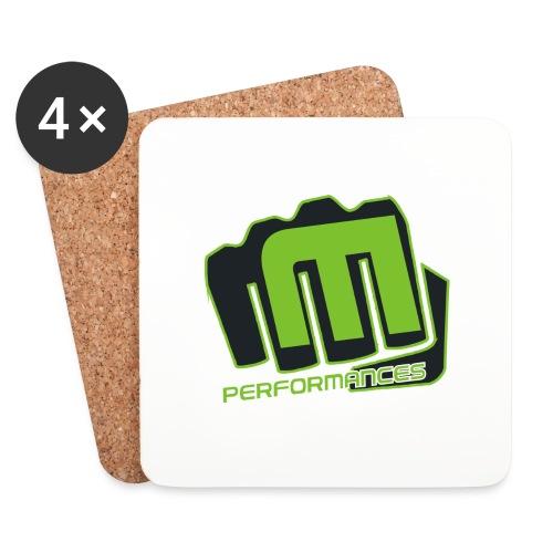 m_performances_jpg - Sottobicchieri (set da 4 pezzi)