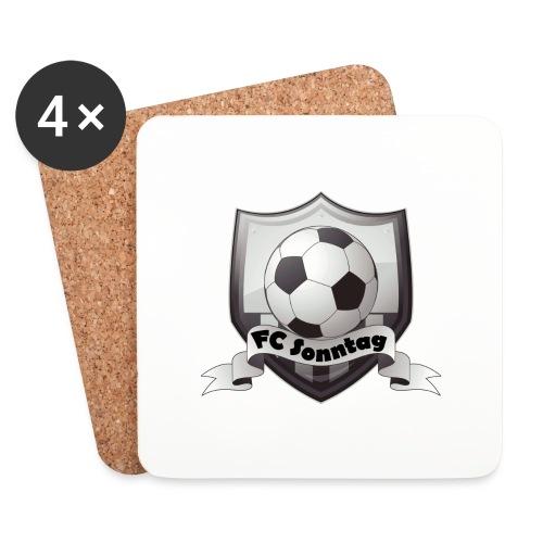 FC Sonntag Logo - Untersetzer (4er-Set)