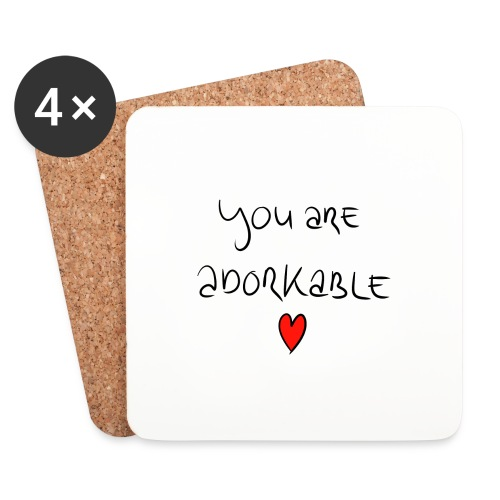 adorkable - Coasters (set of 4)