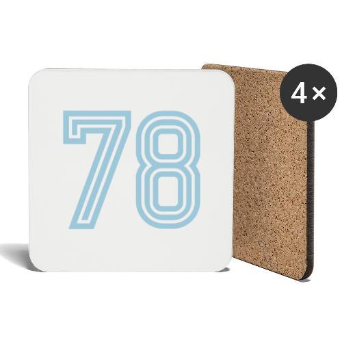 Football 78 - Coasters (set of 4)