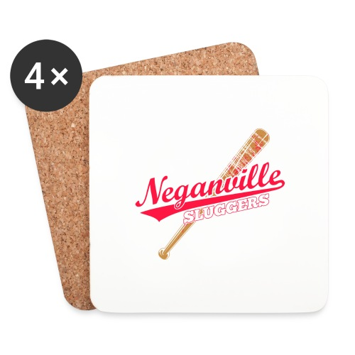 Neganville Sluggers - Coasters (set of 4)