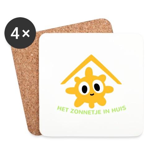 Grappige Rompertjes: Het zonnetje in huis - Onderzetters (4 stuks)