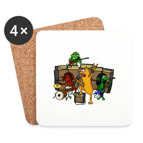 Kobold Metal Band - Coasters (set of 4)