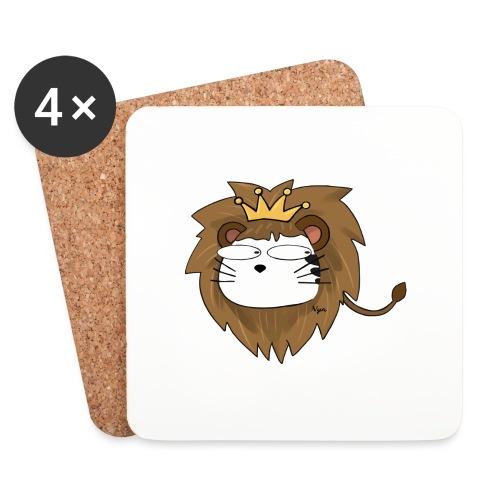 KAT LION by NYA - Sottobicchieri (set da 4 pezzi)