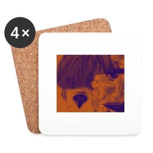 chiara_fiori_5-png - Sottobicchieri (set da 4 pezzi)