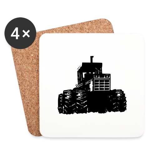 IH 4WD Tractor - Coasters (set of 4)