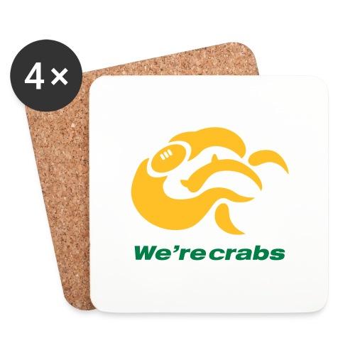 Crazycrab_Australia - Sottobicchieri (set da 4 pezzi)