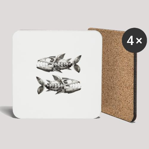 FishEtching - Coasters (set of 4)