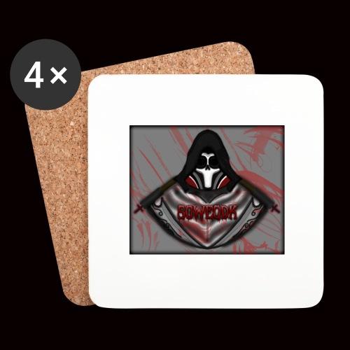 SoWeQDK Reaper ! - Glasbrikker (sæt med 4 stk.)