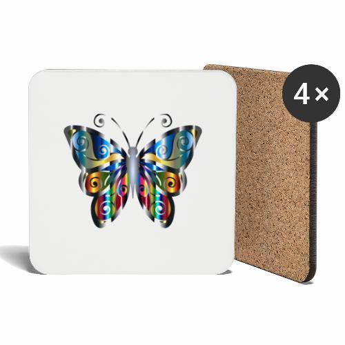 butterfly - Podstawki (4 sztuki w zestawie)