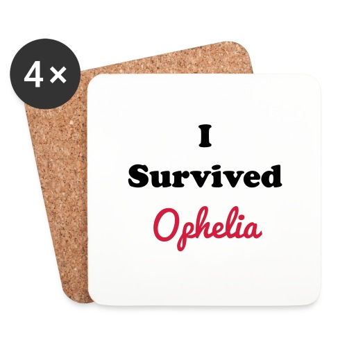 IsurvivedOpheliaWhitered - Coasters (set of 4)