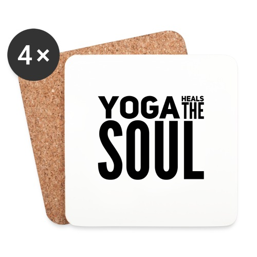 yogalover - Onderzetters (4 stuks)