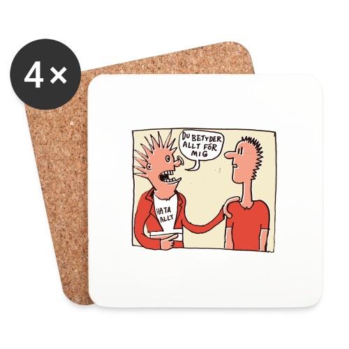hataalltfaerg - Underlägg (4-pack)