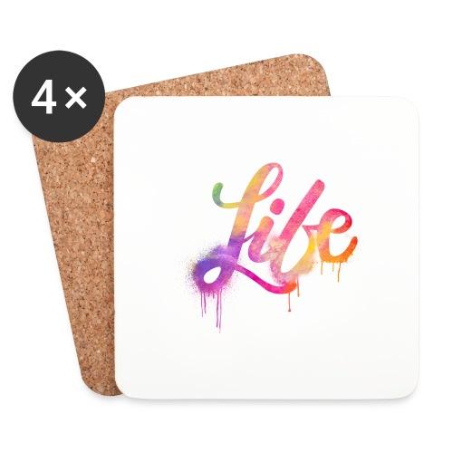 life - Sottobicchieri (set da 4 pezzi)