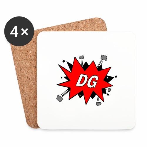 Dutchgamerz Merchandise 2017-2018 - Onderzetters (4 stuks)